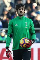 Mattia Perin Juventus<br /> Bergamo 26-12-2018  Stadio Atleti Azzurri d'Italia <br /> Football Campionato Serie A 2018/2019 <br /> Atalanta - Juventus<br /> Foto Cesare Purini / Insidefoto