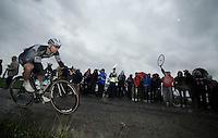 Jan Bakelants (BEL/OmegaPharma-Quickstep)<br /> <br /> 2014 Tour de France<br /> stage 5: Ypres/Ieper (BEL) - Arenberg Porte du Hainaut (155km)