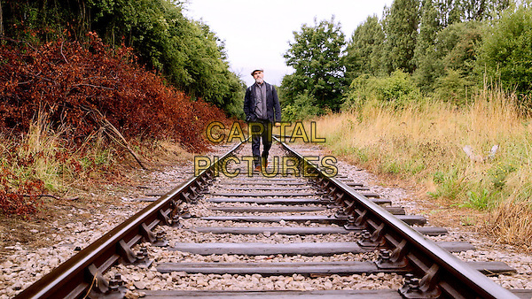 The First Film (2015) <br /> David Nicholas Wilkinson at Middleton Railway Line<br /> *Filmstill - Editorial Use Only*<br /> CAP/KFS<br /> Image supplied by Capital Pictures