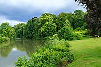 France, Sarthe (72), Le Lude, château et jardins du Lude, le Loir