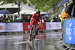 Christophe Laporte (FRA) Cofidis in action during Stage 1, a 14km individual time trial around Dusseldorf, of the 104th edition of the Tour de France 2017, Dusseldorf, Germany. 1st July 2017.<br /> Picture: Eoin Clarke | Cyclefile<br /> <br /> <br /> All photos usage must carry mandatory copyright credit (&copy; Cyclefile | Eoin Clarke)