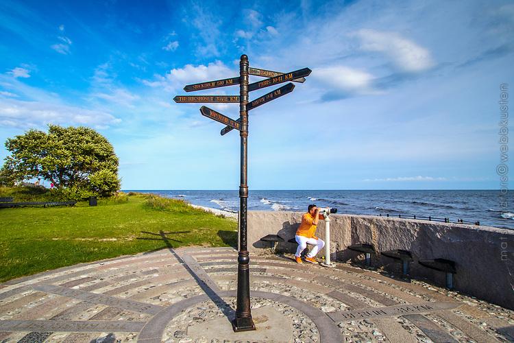 Smygehuk i Skåne har den sydligaste udden i Sverige