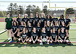 4-22-19, Huron High School girl's junior varsity soccer team