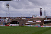 23/06/2000 Blackpool FC Bloomfield Road Ground.Kop from the South stand......© Phill Heywood.