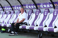 China Head Coach, Guus Hiddink sits quietly in the dug-out ahead of the Republic of Ireland match during Republic Of Ireland Under-21 vs Mexico Under-21, Tournoi Maurice Revello Football at Stade Parsemain on 6th June 2019