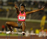 Tiana Madison had a mark of 6.09m in the long jump at the Jamaica International Invitationa Meet held at the National Stadium, Kingston, Jamaica on Saturday, May 2nd. 2009. Photo by Errol Anderson, The Sporting Image.net