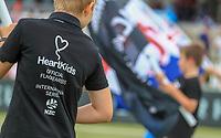 Heart Kids.  Black Caps v England, second international cricket ODI, Bay Oval, Tauranga, New Zealand. Wednesday, 28 February, 2018. Copyright photo: John Cowpland / www.photosport.nz
