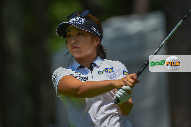 Jeongeun6 Lee (KOR) watches her tee shot on 10 during round 3 of the U.S. Women's Open Championship, Shoal Creek Country Club, at Birmingham, Alabama, USA. 6/2/2018.<br /> Picture: Golffile | Ken Murray<br /> <br /> All photo usage must carry mandatory copyright credit (© Golffile | Ken Murray)