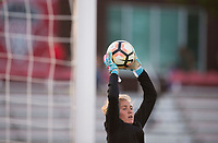 Boyds, MD - Saturday September 30, 2017: Didi Haracic during a regular season National Women's Soccer League (NWSL) match between the Washington Spirit and the Seattle Reign FC at Maureen Hendricks Field, Maryland SoccerPlex.