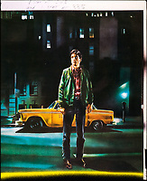 Taxi Driver (1976)<br /> Promotional art with Robert De Niro<br /> *Filmstill - Editorial Use Only*<br /> CAP/KFS<br /> Image supplied by Capital Pictures