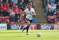 Bolton Wanderers' Antonee Robinson<br /> <br /> Photographer Rachel Holborn/CameraSport<br /> <br /> The EFL Sky Bet Championship - Barnsley v Bolton Wanderers - Saturday 14th April 2018 - Oakwell - Barnsley<br /> <br /> World Copyright &copy; 2018 CameraSport. All rights reserved. 43 Linden Ave. Countesthorpe. Leicester. England. LE8 5PG - Tel: +44 (0) 116 277 4147 - admin@camerasport.com - www.camerasport.com