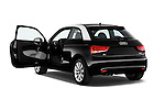 Rear three quarter door view of a 2014 Audi A1 Ambition 3 Door Hatchback 2WD