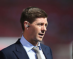 Steven Gerrard working as a BT Sports pundit during the Emirates FA Cup Final match at Wembley Stadium, London. Picture date: May 27th, 2017.Picture credit should read: David Klein/Sportimage