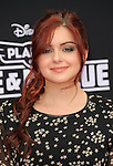 Ariel Winter arriving at the Los Angeles premiere of Disney's Planes Fire and Rescue held at El Capitan Theatre Los Angeles, CA. July 15, 2014.