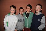 Sean Macaufield, Karl Whelan, Adam Flynn and James English.at the Mattock Rangers fashion show..Picture: Fran Caffrey / www.newsfile.ie ..