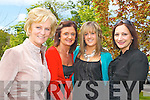 RELAXING: Having.a relaxing day while.helping to raise.money for the Kerry.Branch of Enable.Ireland at their.annual lunch and.fashion show on Friday.afternoon in the.Ballyroe Heights.Hotel, from l-r were:.Pearl McGillicuddy,.Bobby O'Halloran,.Megan O'Halloran.and Linda Fitzgerald,.all from Ballyard,.Tralee.