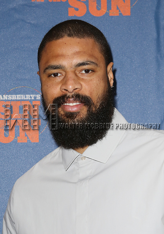 Tyson Chandler attending the Broadway Opening Night Performance of 'A Raisin In The Sun'  at the Barrymore Theatre on April 3, 2014 in New York City.
