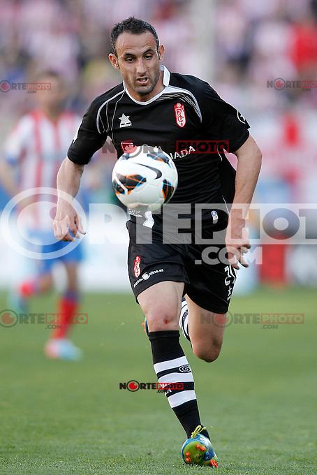 Granada's Juanma Ortiz during La Liga match.April 14,2013. (ALTERPHOTOS/Acero)
