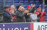 Fleetwood Town fans enjoy the pre-match atmosphere <br /> <br /> Photographer Kevin Barnes/CameraSport<br /> <br /> The EFL Sky Bet League One - Bristol Rovers v Fleetwood Town - Saturday 22nd December 2018 - Memorial Stadium - Bristol<br /> <br /> World Copyright &copy; 2018 CameraSport. All rights reserved. 43 Linden Ave. Countesthorpe. Leicester. England. LE8 5PG - Tel: +44 (0) 116 277 4147 - admin@camerasport.com - www.camerasport.com