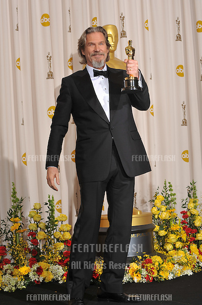 Jeff Bridges at the 82nd Annual Academy Awards at the Kodak Theatre, Hollywood..March 7, 2010  Los Angeles, CA.Picture: Paul Smith / Featureflash