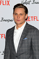 "LOS ANGELES - JAN 28:  Billy Magnussen at the ""Velvet Buzzsaw"" Los Angeles Premiere Screening at the Egyptian Theater on January 28, 2019 in Los Angeles, CA"