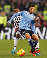 Calcio, Serie A: Lazio vs Juventus. Roma, stadio Olimpico, 4 dicembre 2015.<br />