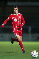 Milos Pantovic of Bayern Munich II during the Premier League International Cup match between Reading U23 and Bayern Munich II at the Adams Park, Wycombe, England on 8 December 2017. Photo by Andy Rowland.