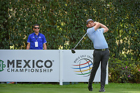 Tyrrell Hatton (ENG) watches his tee shot on 12 during round 2 of the World Golf Championships, Mexico, Club De Golf Chapultepec, Mexico City, Mexico. 2/22/2019.<br /> Picture: Golffile | Ken Murray<br /> <br /> <br /> All photo usage must carry mandatory copyright credit (© Golffile | Ken Murray)