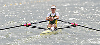 Brandenburg, GERMANY, AUS.  BLW1X, Carly COTTAM, 2008 FISA U23 World Rowing Championships, Saturday, 19/07/2008, [Mandatory credit: Peter Spurrier Intersport Images].... Rowing Course: Brandenburg, Havel Rowing Course, Brandenburg, GERMANY