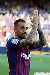 53e Trofeu Joan Gamper.<br /> Presentation 1st team FC Barcelona.<br /> Paco Alcacer.