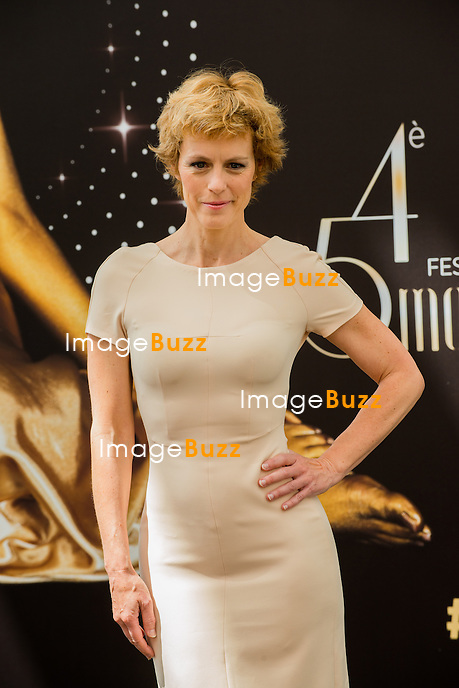 French actress Anne Richard poses during a photocall for the TV show 'Boulevard du Palais' as part of the 54nd Monte-Carlo Television Festival on June 8, 2014 in Monaco