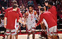 Stanford, CA; February 28, 2019; Men's Basketball, Stanford vs Washington State.