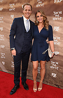 "LOS ANGELES, CA - APRIL 3: Chris Geere and Jennifer Sawdon attend the FYC Red Carpet event for the series finale of FX's ""You're the Worst"" at Regal Cinemas L.A. Live on April 3, 2019 in Los Angeles, California. (Photo by Frank Micelotta/FX/PictureGroup)"
