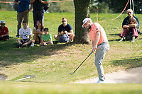 Terrell Hatton (ENG) in action on the 2nd hole during the third round of the 76 Open D'Italia, Olgiata Golf Club, Rome, Rome, Italy. 12/10/19.<br /> Picture Stefano Di Maria / Golffile.ie<br /> <br /> All photo usage must carry mandatory copyright credit (© Golffile | Stefano Di Maria)