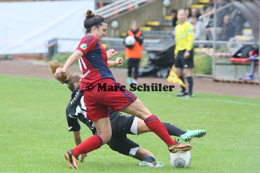 Julia Arnold (Jena) gegen Fatmire Alushi (FFC) - 1. FFC Frankfurt vs. USV FF Jena