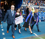07.04.2018 Rangers v Dundee:<br /> RSEA cheque presentation
