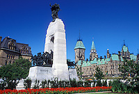 Ottawa, Ontario, Canada, National War Memorial on Confederation Square in downtown Ottawa.