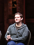 Rory O'Malley performing before the Gilder Lehman Institute of American History Education Matinee of 'Hamilton' at the Richard Rodgers  Theatre on November 2, 2016 in New York City.