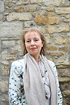 Jane Dunn at Christ Church during the Sunday Times Oxford Literary Festival, UK, 16 - 24 March 2013. <br />