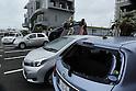 Typhoon No.7 Soulik in Ishigaki Island Okinawa