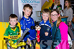 Eoin,Luke, Cillian and Eileen McGillicuddy  Killorglin at the Kerry Expo in the INEC on Sunday