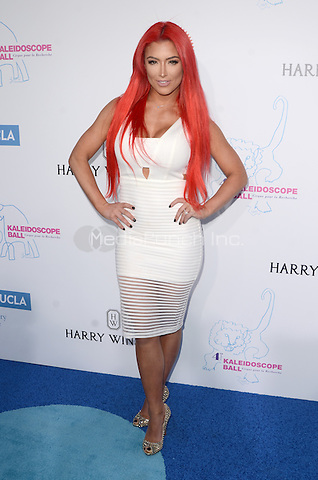 CULVER CITY, CA - MAY 21: Eva Marie at the 2016 Kaleidoscope Ball at 3Labs in Culver City, California on May 21, 2016. Credit: David Edwards/MediaPunch