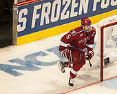 Clay Anderson (Harvard - 5) - The University of Minnesota Duluth Bulldogs defeated the Harvard University Crimson 2-1 in their Frozen Four semi-final on April 6, 2017, at the United Center in Chicago, Illinois.