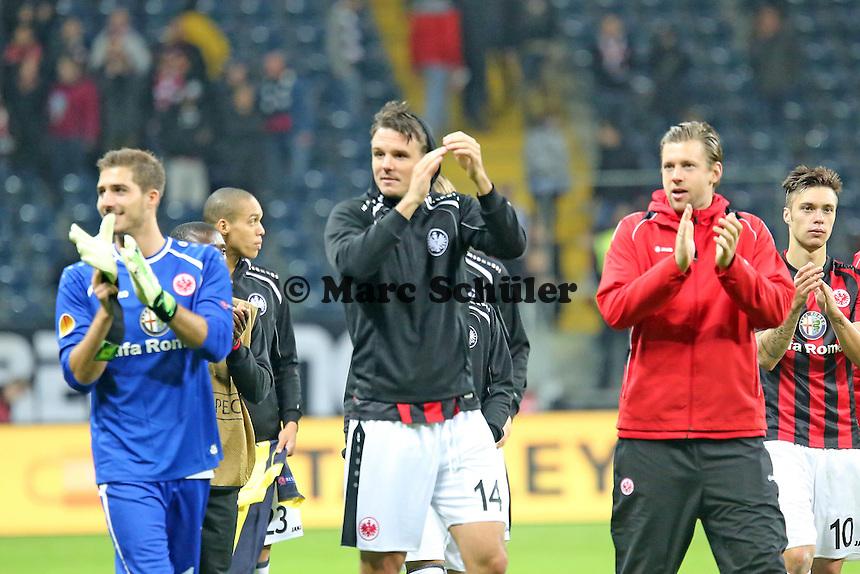 Siegesjubel Eintracht Frankfurt  - Eintracht Frankfurt vs. Macabi Tel Aviv, Europa League 3. Spieltag