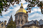 BJ 10.4.16 Golden Dome 10202.JPG by Barbara Johnston/University of Notre Dame