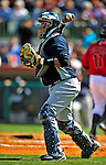 2 March 2009: New York Yankees' catcher Jose Molina in action during a Spring Training game against the Houston Astros at Osceola County Stadium in Kissimmee, Florida. The teams played to a 5-5, 9-inning tie. Mandatory Photo Credit: Ed Wolfstein Photo