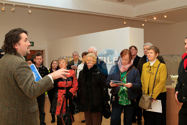 Louth Arts Officer Brian Harten at the walking tour of Drogheda...Photo NEWSFILE/Jenny Matthews..(Photo credit should read Jenny Matthews/NEWSFILE)