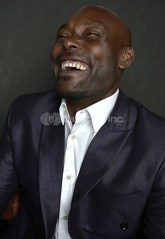 MIAMI BEACH, FL - MARCH 05: Actor Jimmy Jean-Louis from the film 'Cargo' poses for a portrait in the Vallerymag.com Portrait Studio during the 2017 Miami Dade College's 34th Miami Film Festival portrait at The Standard Hotel on March 5, 2017 in Miami Beach, Florida. Credit: MPI10 / MediaPunch