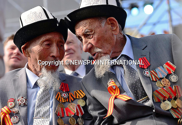 09.05.2015, Moscow; Russia: PRESIDENT VLADIMIR PUTIN  <br /> and other world leaders attended the 70th Anniversary of Victory Day Parade in Red Square, that mark the Soviet Union's victory over Nazi Germany during the Second World War. <br /> Mandatory Credit Photo: NEWSPIX INTERNATIONAL<br /> <br /> **ALL FEES PAYABLE TO: &quot;NEWSPIX INTERNATIONAL&quot;**<br /> <br /> IMMEDIATE CONFIRMATION OF USAGE REQUIRED:<br /> Newspix International, 31 Chinnery Hill, Bishop's Stortford, ENGLAND CM23 3PS<br /> Tel:+441279 324672  ; Fax: +441279656877<br /> Mobile:  07775681153<br /> e-mail: info@newspixinternational.co.uk