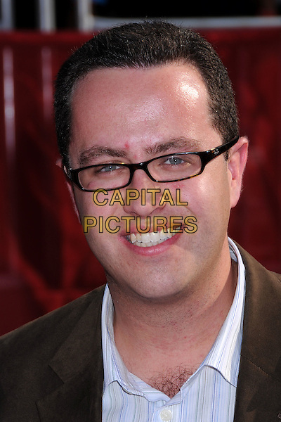 JARED FOGLE .ESPY Awards 2008 - Arrivals at the Nokia Theatre LA Live, Los Angeles, California, USA..July 16th, 2008.headshot portrait glasses .CAP/ADM/BP.©Byron Purvis/AdMedia/Capital Pictures.